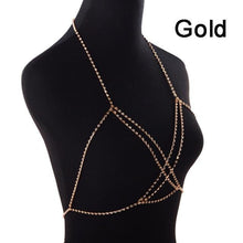 Load image into Gallery viewer, Crystal Rhinestone Body Chain Women Jewelry - crown-modern
