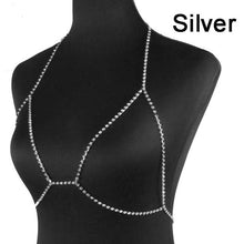 Load image into Gallery viewer, Francesca Diamond Body Chain - crown-modern
