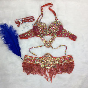 Crystal Belly Dancer Costume - crown-modern