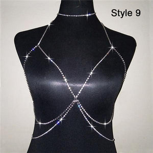 Francesca Body Chain - crown-modern