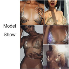 Load image into Gallery viewer, Rhinestone Bra Necklace Body Chain Jewelry - crown-modern