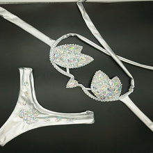 Load image into Gallery viewer, Vacation Crystal Festival Bikini Outfit - crown-modern