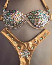 Load image into Gallery viewer, Crystal Carnival Swimwear - crown-modern