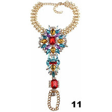 Load image into Gallery viewer, 1 pc Crystal Anklet Bracelet - crown-modern