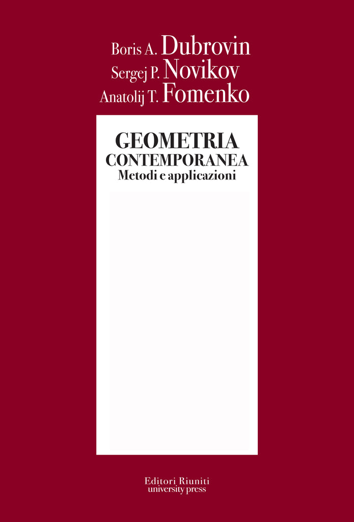 Geometria contemporanea vol. 1, 2, 3