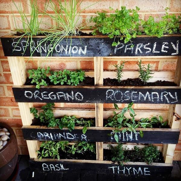 Transform your Pallet into a raised bed or wall planter!