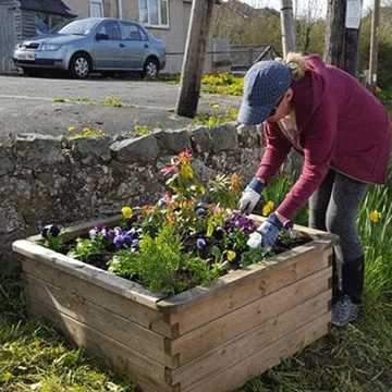 Blooming Marvellous Work in Treuddyn