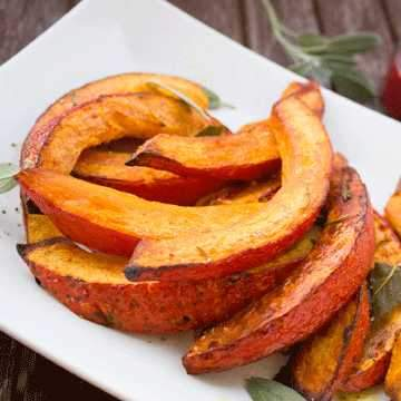 Kitchen Gardener - Spicy Pumpkin Wedges
