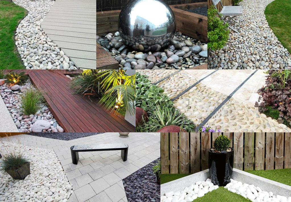New in this week... add cobbles and pebbles to your garden with Dandy's