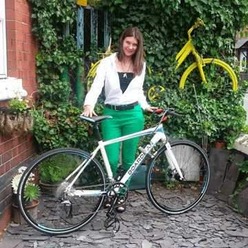 #PayItForward Update - Heather's New Bike!