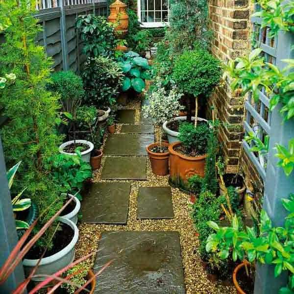 Tips for small area gardening...