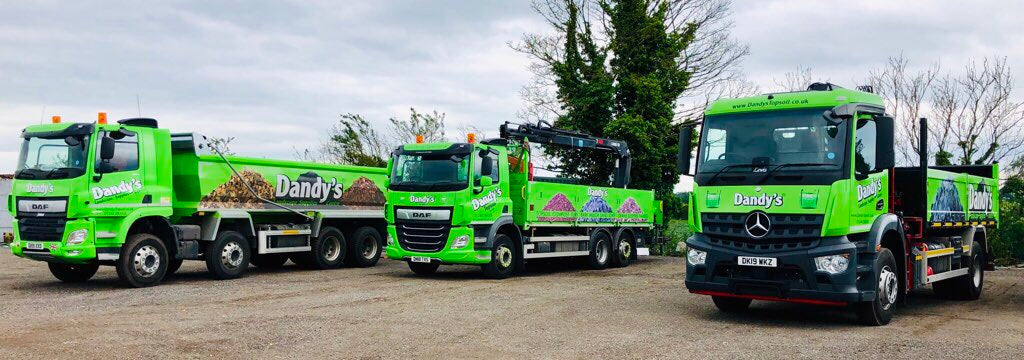 Dandys Topsoil Delivery Postcode Wagons