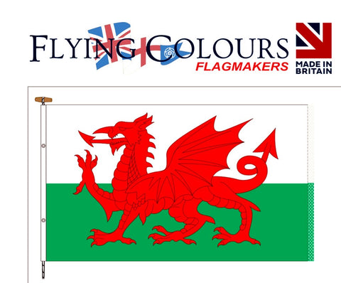 Biggest Welsh Flag in UK to fly above Dandys