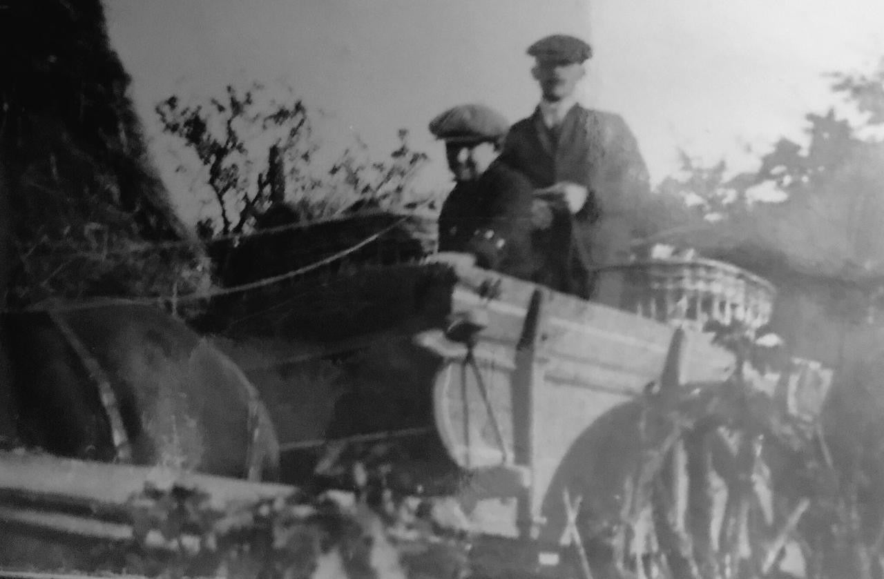 Dandys Topsoil Horse Drawn Cart