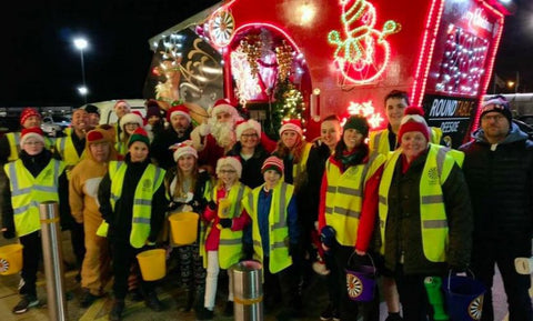 Deeside Round Table Father Christmas Float