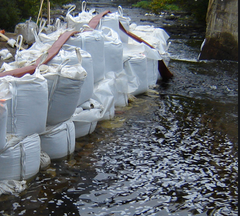 Dandy's Bulk Bag Flood Prevtion Barrier