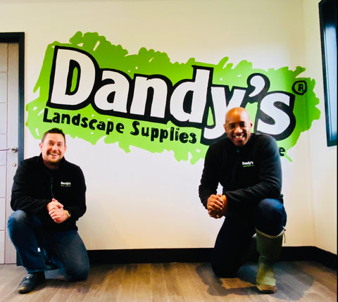 Adam Dandy and Dandy's  Brand Ambassador Dion Dublin