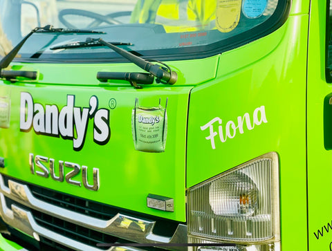 Dandys Truck dedicated to Fiona