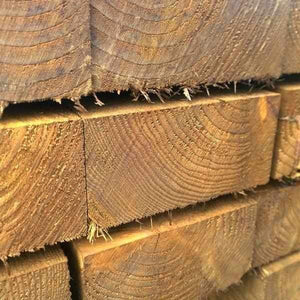 1.2m Mini Softwood Tanalised Sleepers | Dandys