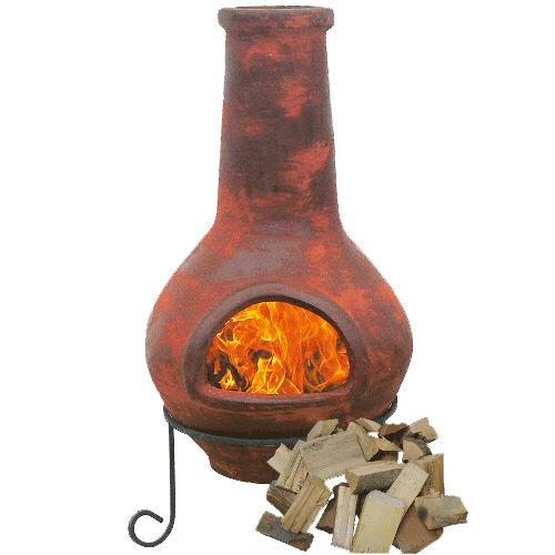 Hardwood Chiminea / Fire Pit Logs - Dandy's Topsoil, Rock Salt & Landscaping Supplies