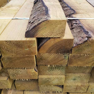 Super Saver Softwood Tanalised Sleepers - Grade B (LOCL DEL ONLY)