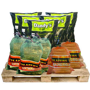 Dandy's Mixed Fuel Pack - logs, coal , kindling