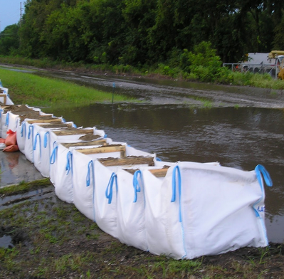 Image of Giant Flood Sandbags