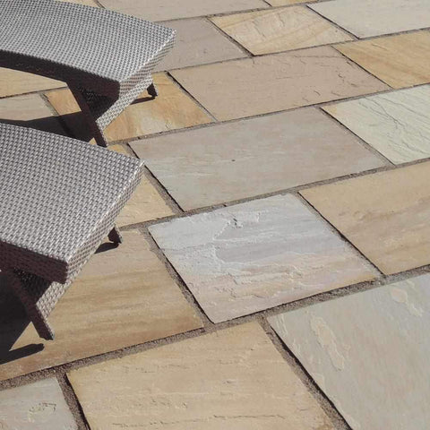Image of Buff Blend Sandstone Natural Stone Paving | Dandys