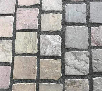 Buff Blend (Weathered) Cobbles Pack | Dandys
