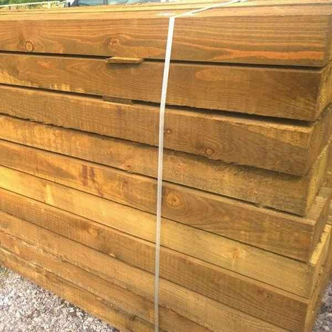 Image of Collection Offer - Softwood Tanalised Sleepers | Dandys