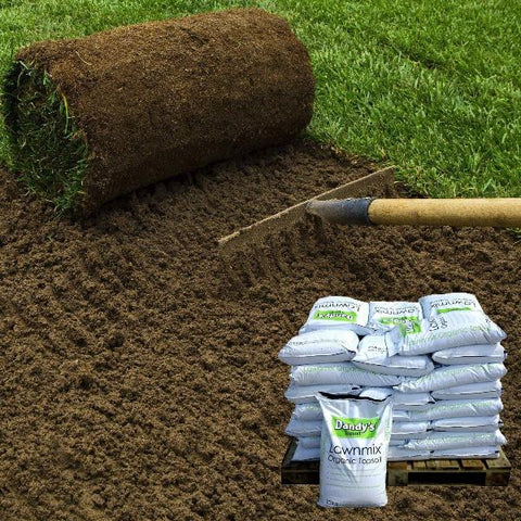 Image of Dandy's Lawnmix® Topsoil for Garden Lawns