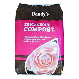 Ericaceous Compost - 50ltr small bags | Dandys