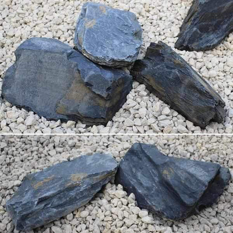 Image of Graphite Grey Slate Rockery | Dandys