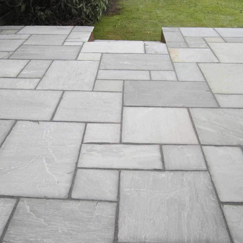 Grey Umbra Sandstone Natural Stone Paving | Dandys