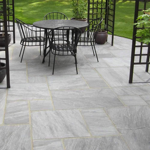 Image of Grey Umbra Sandstone Natural Stone Paving | Dandys