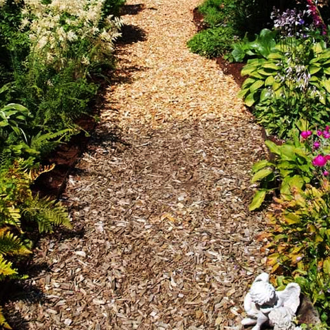 Hardwood Path Chips-Dandy's Topsoil & Landscape Supplies