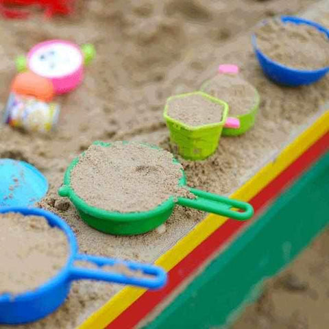 Image of PlaySafe Playground Bark and Sand Combo for Kids | Dandys