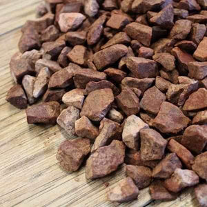 Red Granite Chippings Bulk Bag | Dandys
