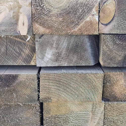 Image of Super Saver Softwood Tanalised Sleepers - Grade B | Dandys