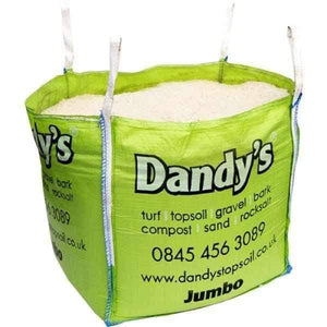 White Rock Salt Bulk Bag | Dandys