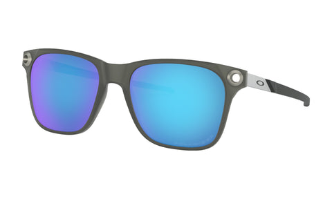OCULOS APPARITION SATIN BLACK INK W/SAPPHIRE IRIDIUM POLARIZED