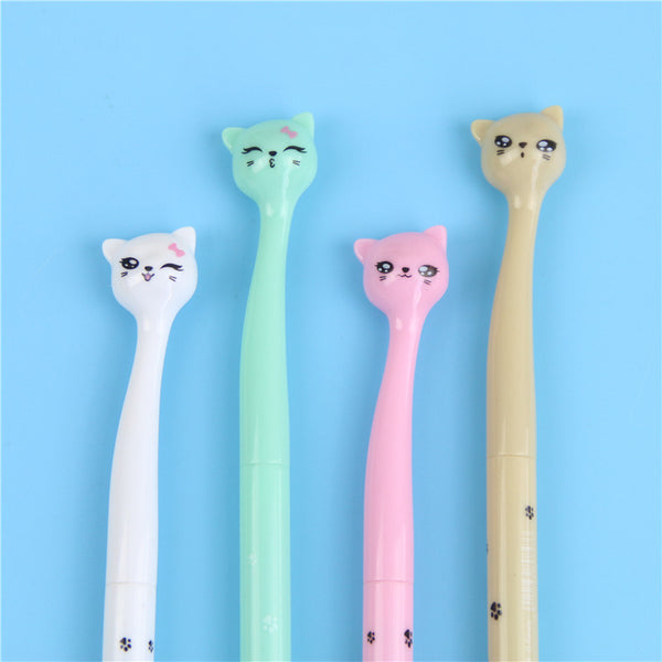 4 Pcs Cat Gel Ink Pen Maker Offer