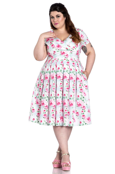 HELL BUNNY NATALIE 50'S DRESS PLUS SIZE