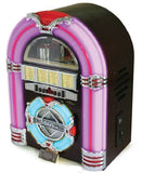 STEEPLETONE RETRO MINI JUKEBOX - USB MP3 CD LED