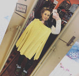 Yellow Vintage Knitted Jumper