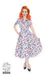 Poppy Reproduction 1940s Tea Dress REDUCED