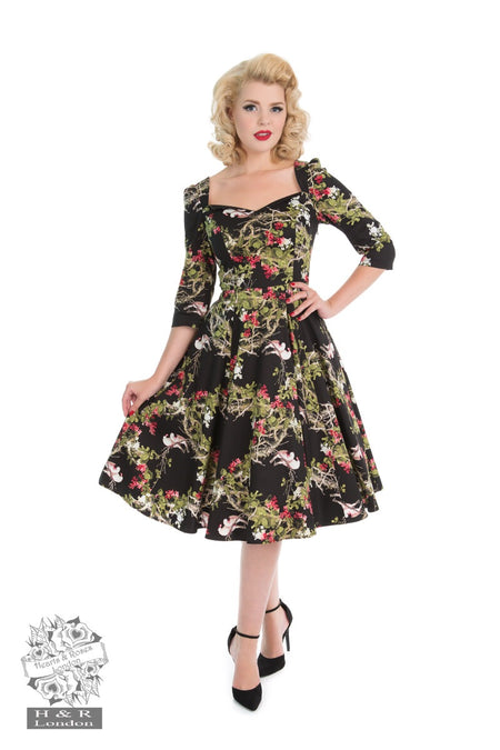 Christmas Hell Bunny Jennie 50s Repro Dress