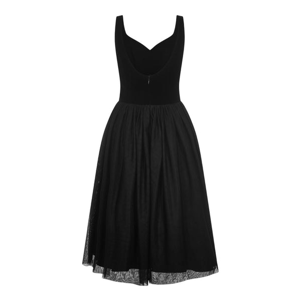 COLLECTIF VINTAGE ISLA ROSE SWING DRESS