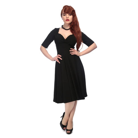 COLLECTIF MAINLINE JOSEPHINE FISHTAIL DRESS