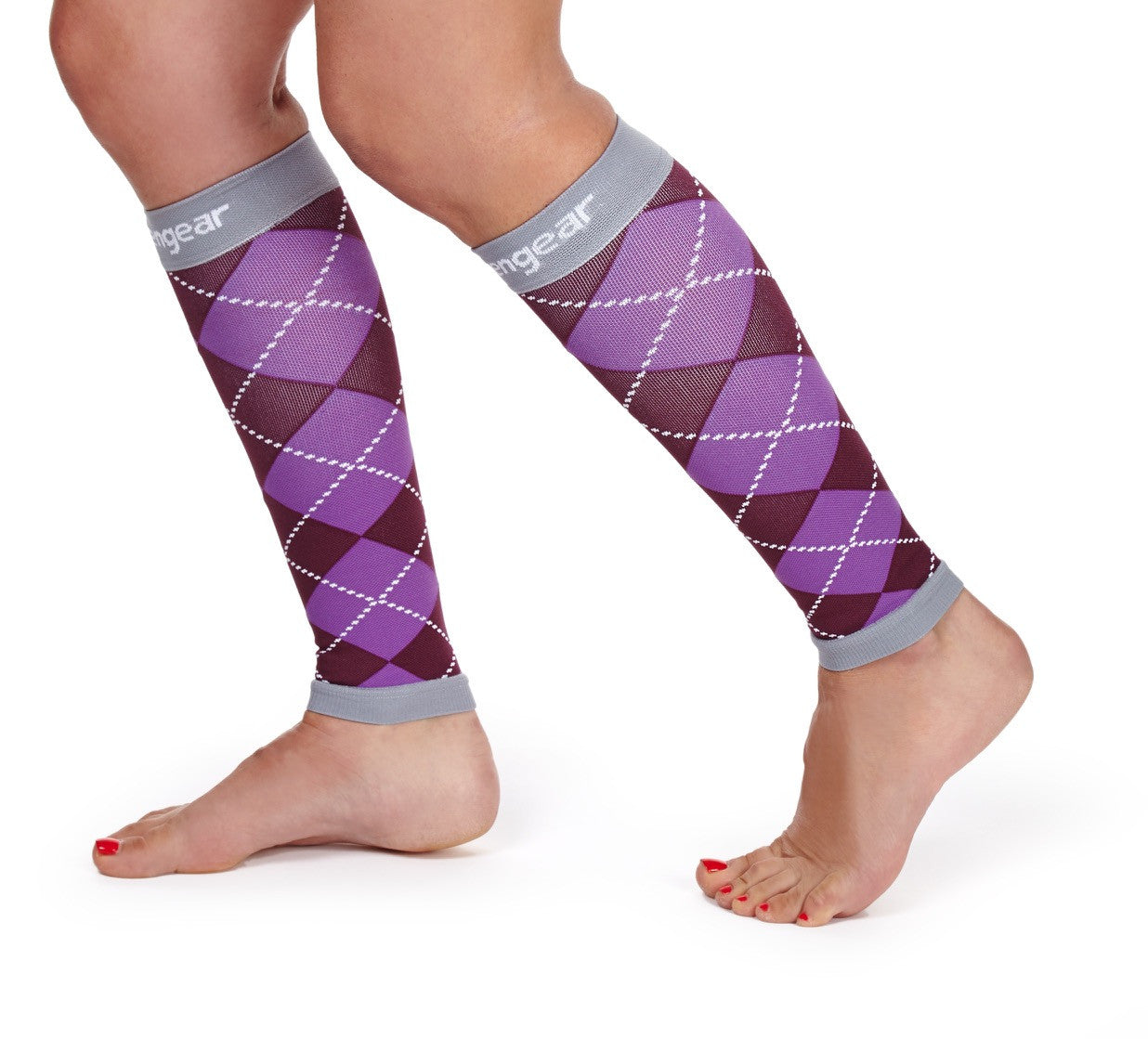 Calf Compression Sleeve - Argyle